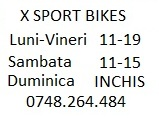 orar tel X bikes