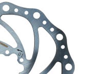 Fibrax WAVY Disc Brake Rotor 160mm