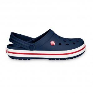 Crocs Crocband Kids Navy Red