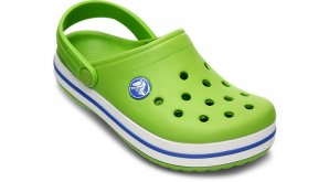 Crocs Crocband Kids Volt Green Navy