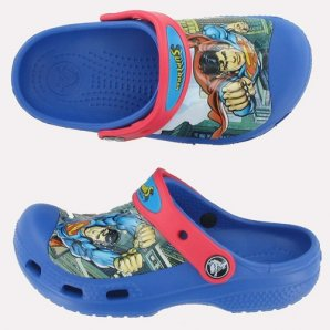 Crocs Superman Sea Blue Red
