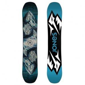 Jones Snowboard Mountain Twin Blue